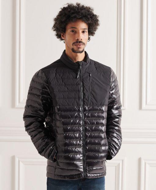 Superdry Studios Contrast Core Down Jacket Black