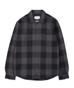 Makia Howard Overshirt Dark Grey