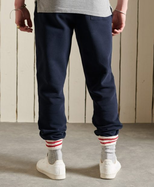Superdry Vintage Logo American Classic Rag Joggers Eclipse Navy