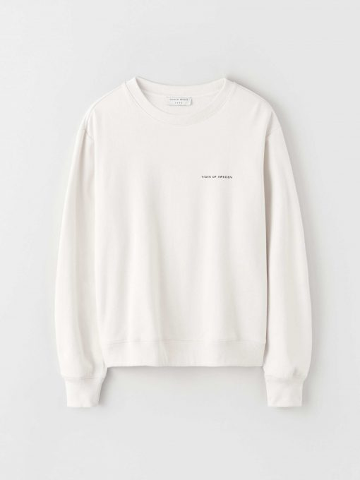 Tiger of Sweden Emerson Sweatshirt Coconut Milk