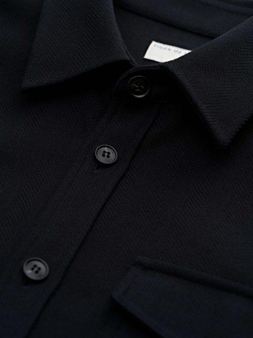 Tiger of Sweden Arnou P Over Shirt Black