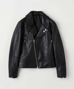Tiger of Sweden Axton Leather Jacket Black