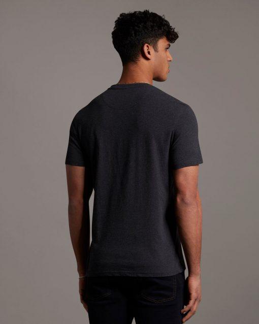 Lyle & Scott Plain T-shirt Charcoal Marl