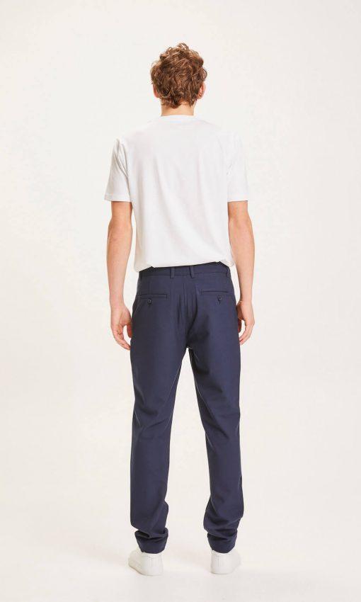 Knowledge Cotton Apparel Joe classic  club pants Navy