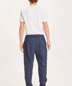 Knowledge Cotton Apparel Trek Functional Pant Eclipse navy