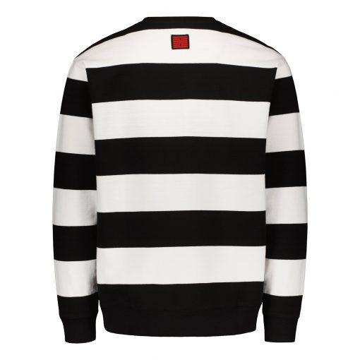 Billebeino Striped Sweatshirt White/Black