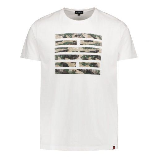 Billebeino Camo Brick T-shirt White