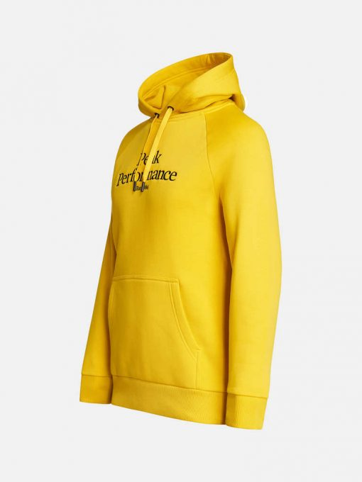 Peak Performance Original Hood Men Trek Yellow