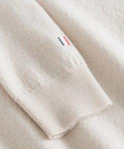 Les Deux Ethan Wool Knit Ivory