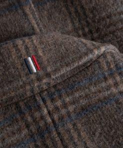 Les Deux Miguel Wool Coat Dark Sand/Mountain Grey