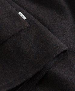 Les Deux Jason Wool Hybrid Jacket Dark Brown