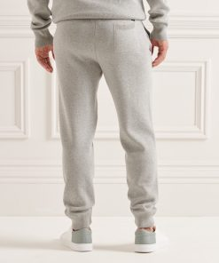 Superdry Studios Organic Cotton Essential Joggers Mid Marl
