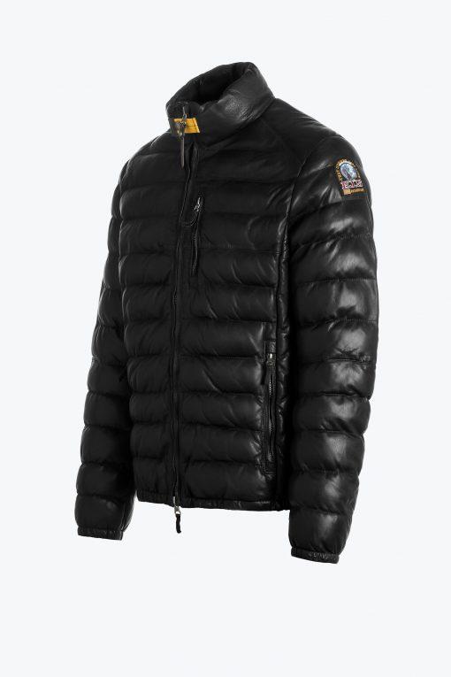 Parajumpers Ernie Leather Jacket Black