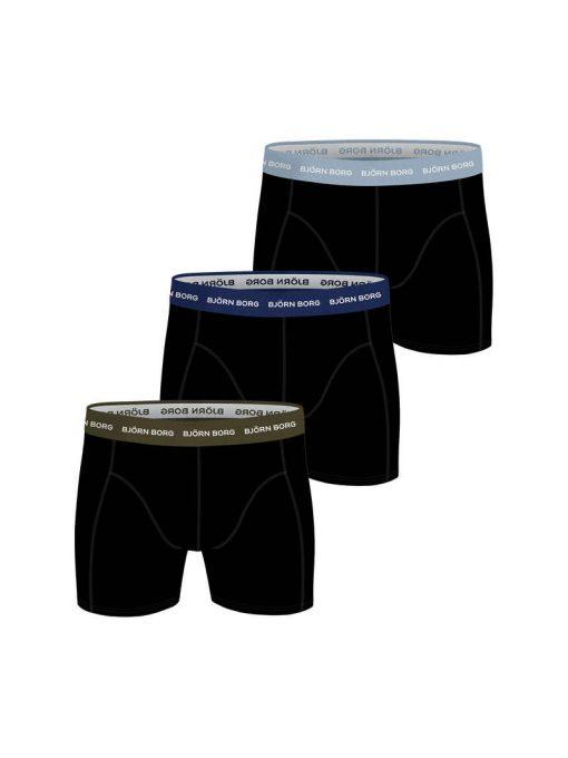 Björn Borg Essential Boxer 3-pack Black