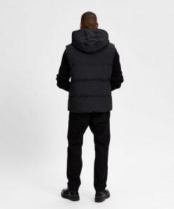 Selected Homme Redown Vest Black