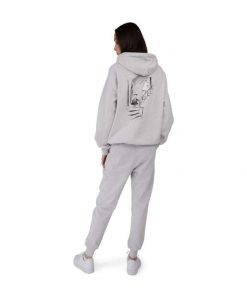 Makia Ninny Hooded Sweatshirt Light Grey