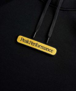 Peak Performance seasonal Patch Hood Men Black
